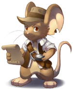Indiana Mouse render