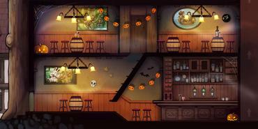 Bar - Halloween 2014
