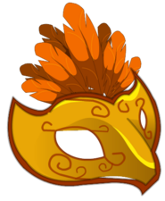 Masque doré