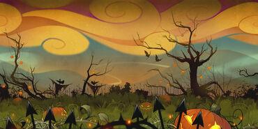 Halloween 2015 - Carte flappy mouse (Fond)