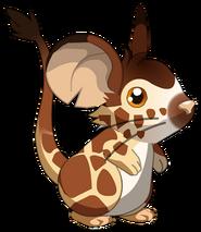 Fourrure girafe V1