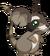 Fourrure de raton laveur