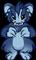 Lua Chaostmas - dark blue yeti
