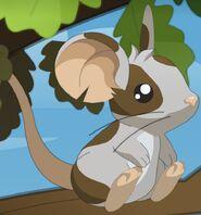 Fourrure grise à taches brunes (Art2)