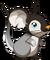 Fourrure de bébé pingouin
