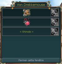 Magasin de Von Drekkemouse (Village)