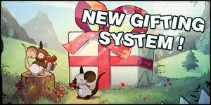 Système d'offre de cadeaux - Promotion