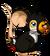 Fourrure de toucan