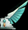 Pêche 2015 - Déesse chamane (aile droite)