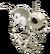 Souris squelette