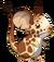 Fourrure de girafe