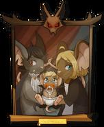 Portrait de la famille Drekkemaus