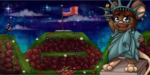 Jour de l'Indépendance 2015 - Carte