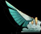 Pêche 2015 - Déesse chamane (aile gauche)