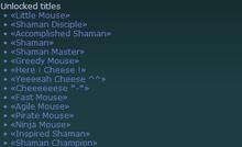 Title List