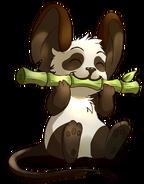 Fourrure de panda - Render