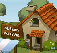 Maison de tribu - Menu