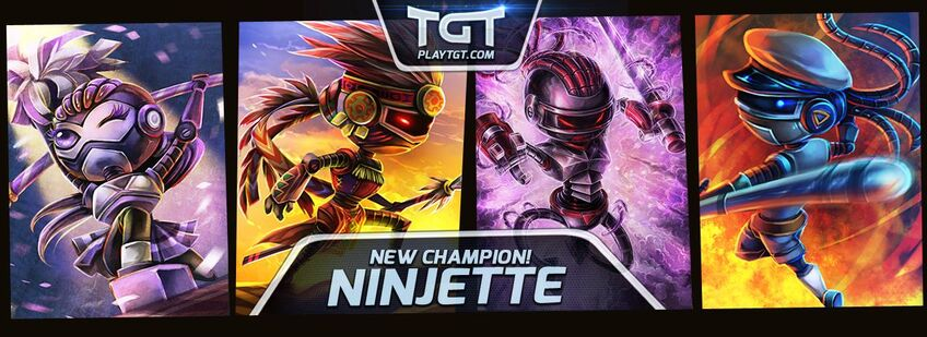 New Champion Ninjette