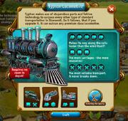Typhon Locomotive crafting