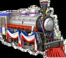 Liberty Bell locomotive