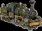 Rocket locomotive