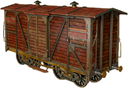 Carriage-dump-cart