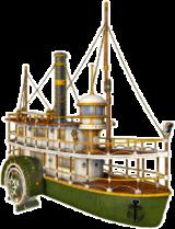 Fulton passenger steamship