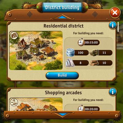 District-building