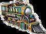 Ridding locomotive