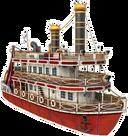 Stevens passenger turbine steamer