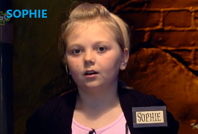 Sophie (Series 2, Episode 1: Wolverhampton) | Trapped! (game show