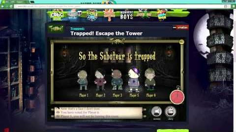 Cbbc Games Trapped Escape The Tower | Games World