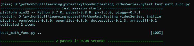 Testing with pytest | TrashPanda Wiki | FANDOM powered by Wikia