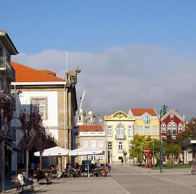 Plaza central de San Simeon