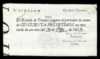 Cincuenta pessetimos de 1854