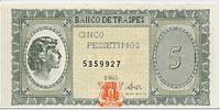 5 Pessetimos 1965