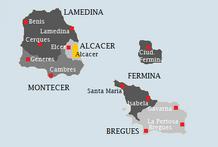 Provincias y ciudades de traspes