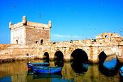 Castillo y puerto de lamedina