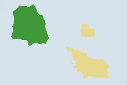 Mapa de la Isla San Martin