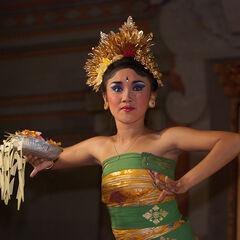 Legong Dance performance, Ubud, Bali, Indonesia