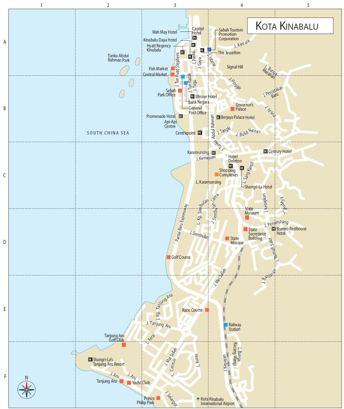 Image Map Kota Kinabalu Bigjpg Travel Wiki Fandom Powered By