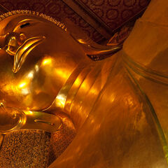 Gigantic Buddha statue, Bangkok, Thailand
