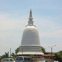 A Buddhist Stupa (Tower)