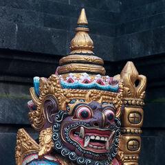 Protector statue, Kuta, Bali, Indonesia