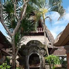 Royal Palace gardens, Ubud, Bali, indonesia