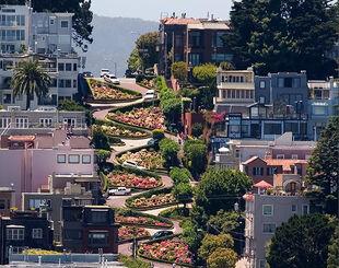 Lombard Street- San Francisco, CA