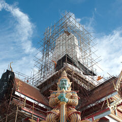 Buddhist temple Ayutthaya, Thailand