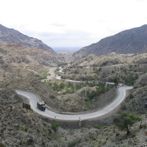 A view of Khyber Pass