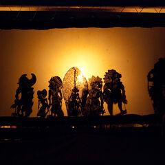 Wayang Shadow Pappet Show, Ubud, Bali, Indonesia