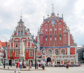 Old Riga Buildings